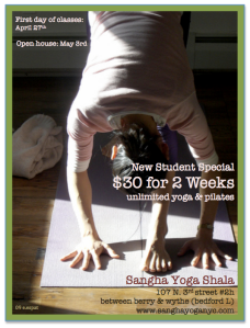 2 weeks of unlimited yoga for $30